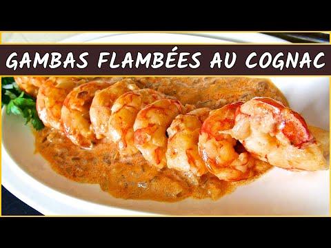 recette-des-gambas-flambées-au-cognac