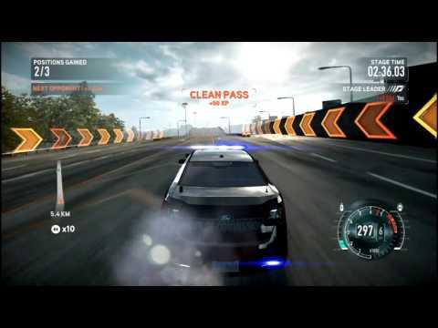 Police Car In NFS the Run