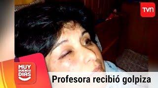 Profesora acusa fuerte agresión por parte de dos apoderados | Muy buenos días