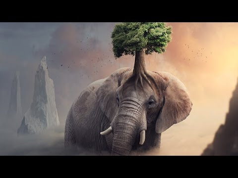 Fantasy Elephant Tree - Photoshop Manipulation Tutorial