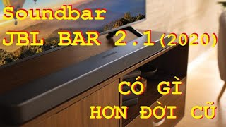 Đánh giá chi tiết soundbar JBL 2.1 Deep Bass. Loa thanh cho ti vi phòng vừa và nhỏ