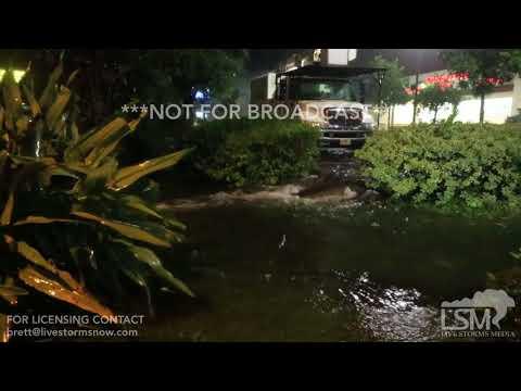 09-11-2017 Gainesville, Florida - Eyewall of Hurricane Irma