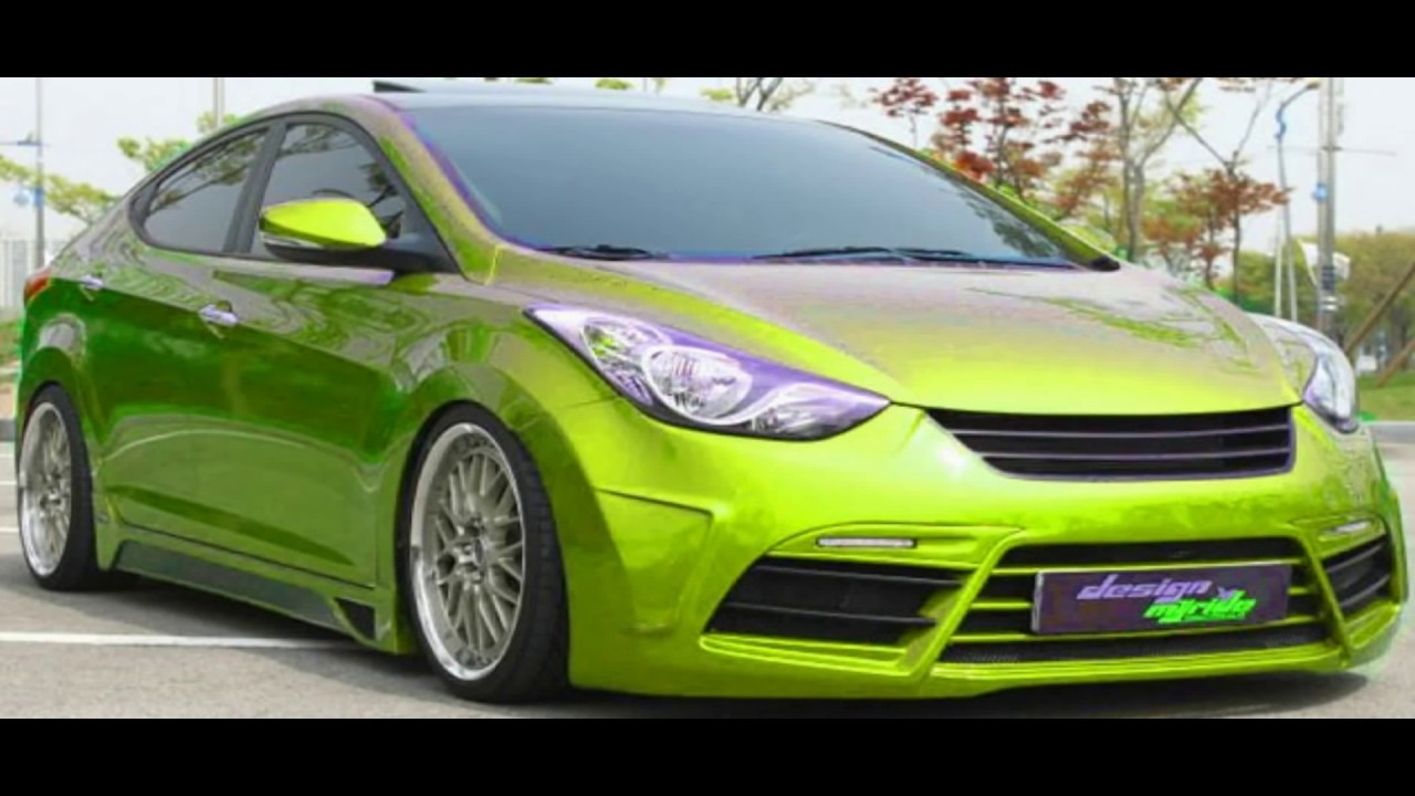 2011 Hyundai Elantra 50 Custom Paint Colors 2011 2013