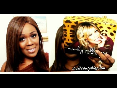 WENDY WILLIAMS Hair World  NEW Wig Review