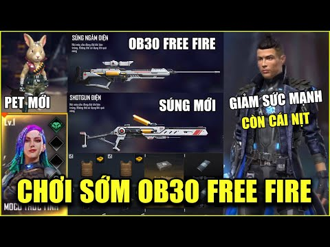 Free Fire | Chơi Sớm OB30: CHRONO Tiếp Tục Bị Giảm Sức Mạnh - Xuất Hiện Phụ Kiện Khủng Cho Mũ Giáp