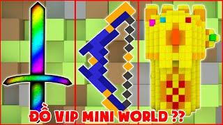 Đồ Siêu Vip Nhất Trong Mini World ??
