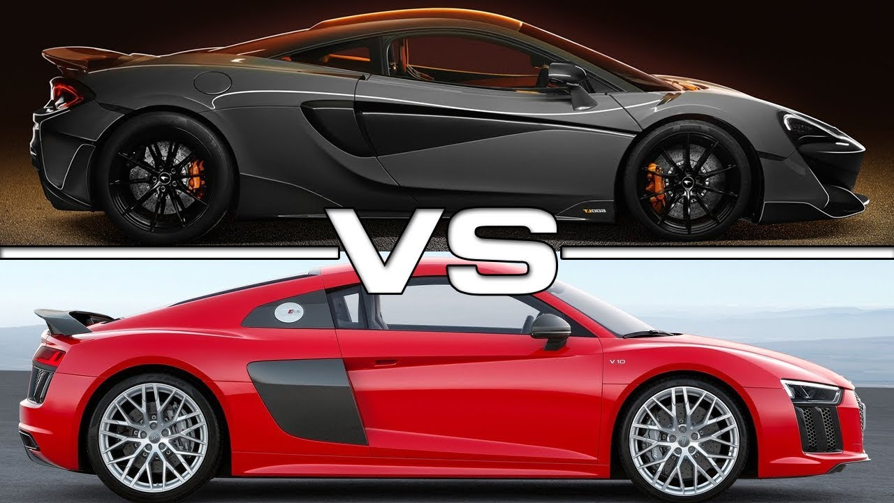 2019 Mclaren 600lt Vs 2018 Audi R8 V10 Plus Technical Specifications
