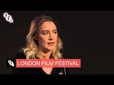 Saoirse Ronan screentalk | BFI London Film Festival