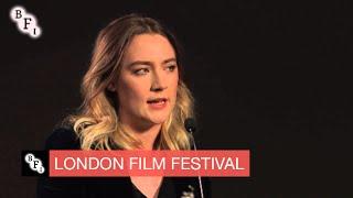 Saoirse Ronan screentalk   BFI London Film Festival