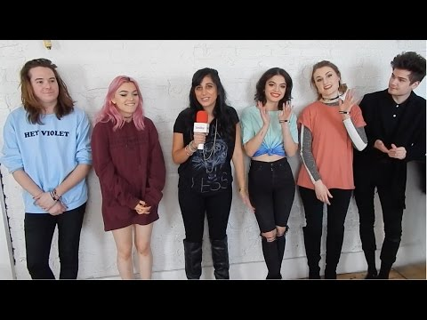 "Hey Violet Chats ""Break My Heart"", Tour Life, and Upcoming Album"