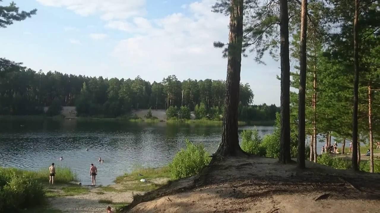 Картинка голубые озера в кургане