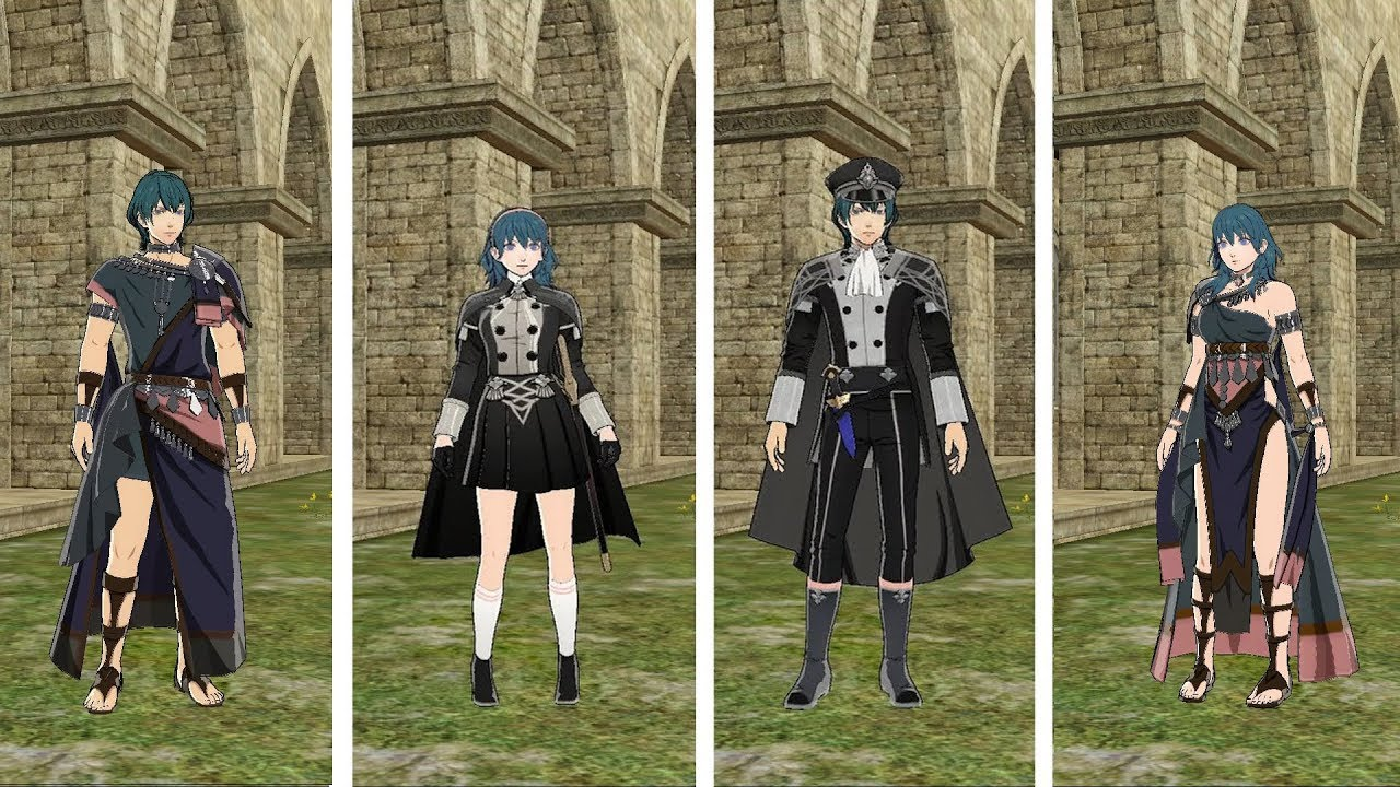 All Byleth Costumes - Updated 7.7.7 (FE Three Houses)