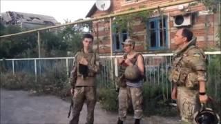 Бойцы из Широкино рассказывают, как было сделано скандальное фото Дмитрия Муравского