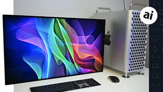 Gambar cover Going Hands-On with Apple's Pro Display XDR! 👀