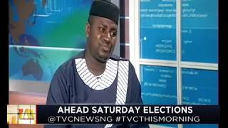 TVC This Morning  22nd Feb., 2019   Ahead Saturday election