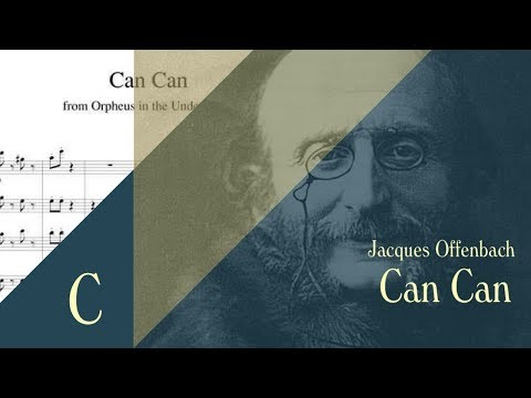 Jacques Offenbach - Orpheus in the Underworld, Infernal Galop [ Can Can ]