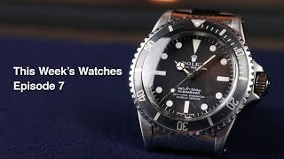 This Week's Watches #7 - Rolex Submariner 5512, Rolex Day-Date 18248 'Bark' and More!