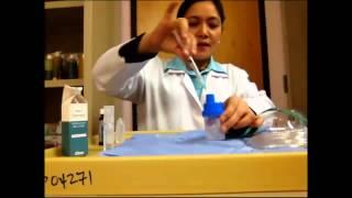 Nebulizing a Patient