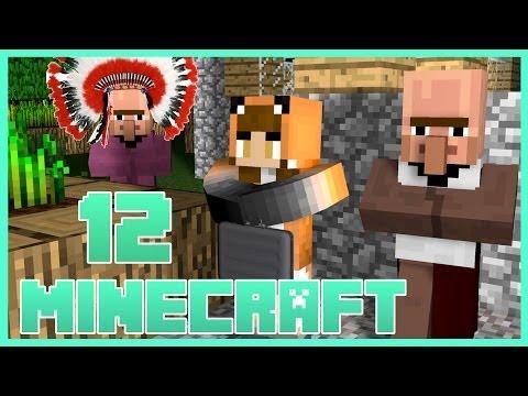 THE VILLAGE PEOPLE...OF MINECRAFT!   Amanda Faye Minecraft [Part 12]