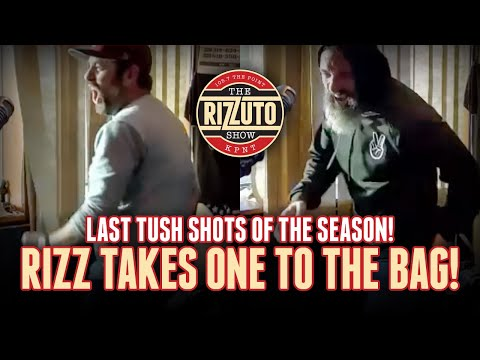 Rizz takes a stray shot right in the BAG; Burton faces final TUSH shots of the year! [Rizzuto Show]