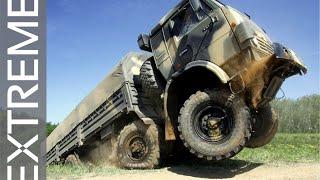 Russian Truck Drivers in Extreme Conditions #6 / Русские грузовики в экстремальных условиях NEW 2015