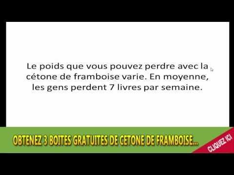 Cétone de framboise Avis & effets secondaires de la Cétone de framboise France