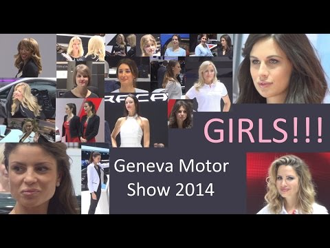 Girls Of Geneva Motor Show 2014 In 3D 4K UHD