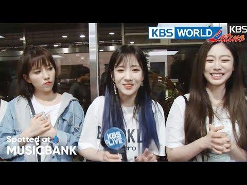 [Spotted at Music bank] 뮤직뱅크 출근길 - UNI.T, LOVELYZ, N.Flying, GFRIEND [2018.05.18] [SUB ESP] - 동영상