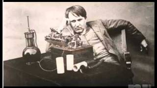 Voice of Thomas Edison