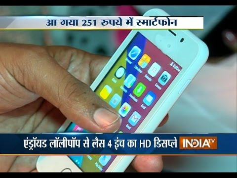 Freedom 251: India Launches World's Cheapest Smartphone at Rs 251