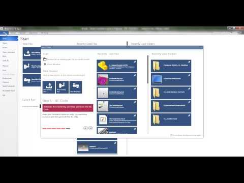 Workflow 2 of 6   File Menu Файловое меню