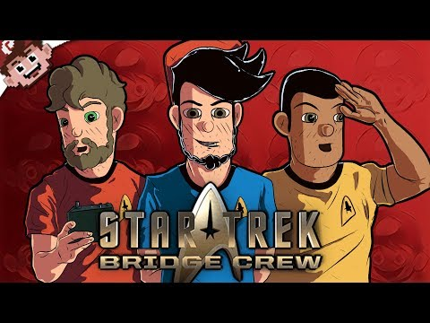 The SPACE STRUGGLE! | Captain Chaos! (Star Trek: Bridge Crew VR w/ The Derp Crew)