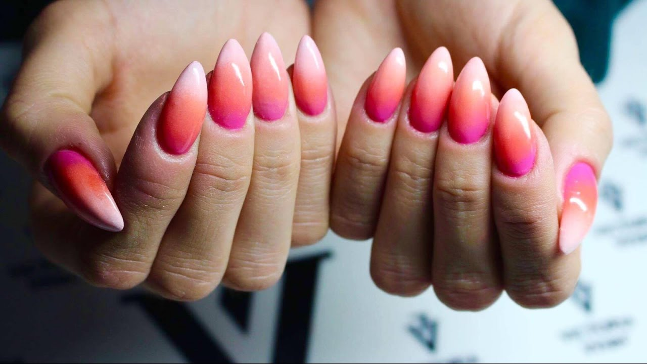 Idealne Letnie Ombre Ombre Nails Youtube