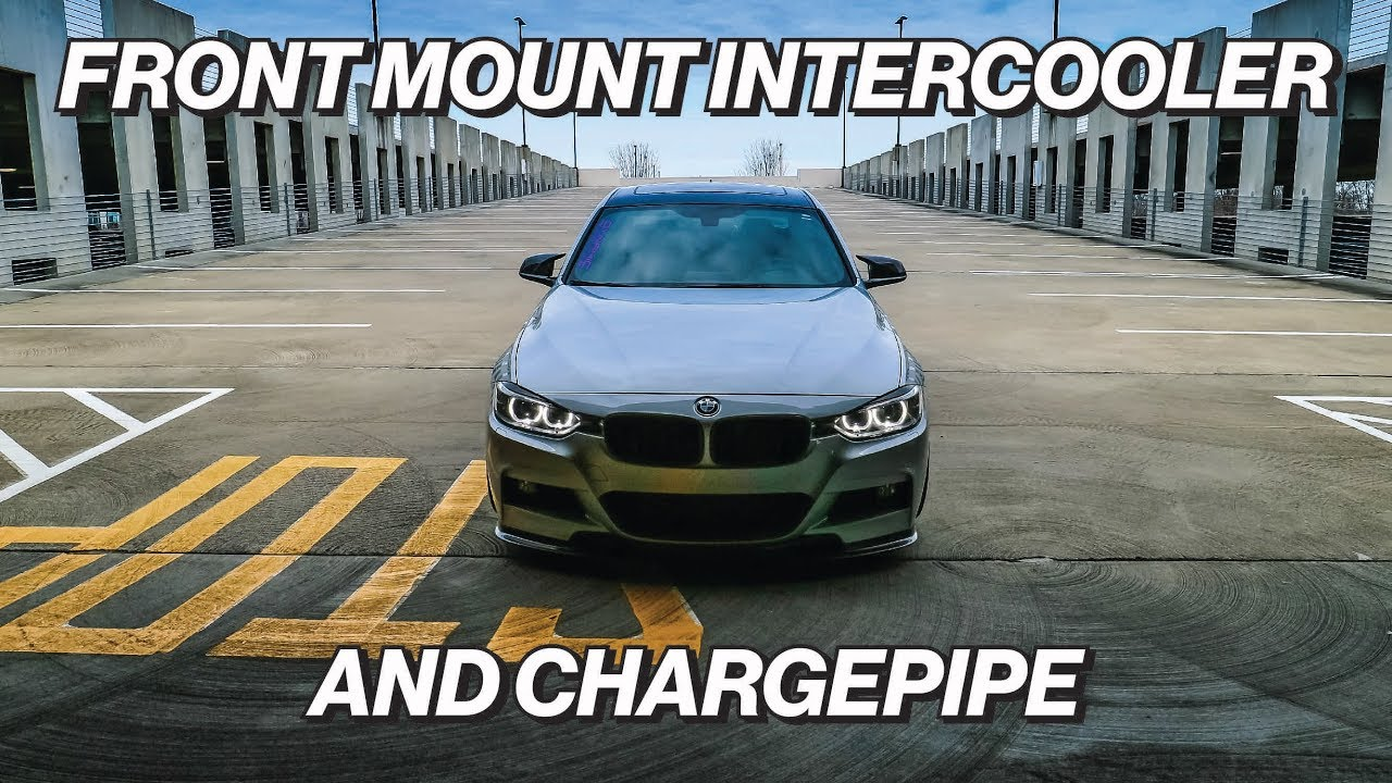 Csf Front Mount Intercooler And Evolution Raceworks Chargepipe On