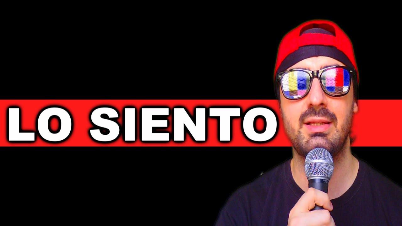 LO SIENTO MUCHO, DE VERDAD