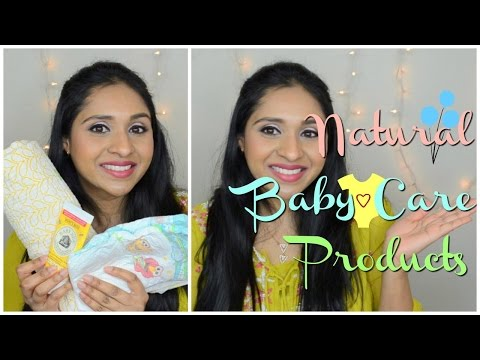 Natural & Organic Baby Products- Safe Products I Use For My Baby | Skin Care For New Born Baby Skin