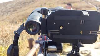 전원생활의 필수품, 독일제 쌍안경을 사용하여 노고단에서…
