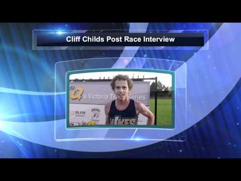 Cliff Childs Post race question after 3000m personal best
