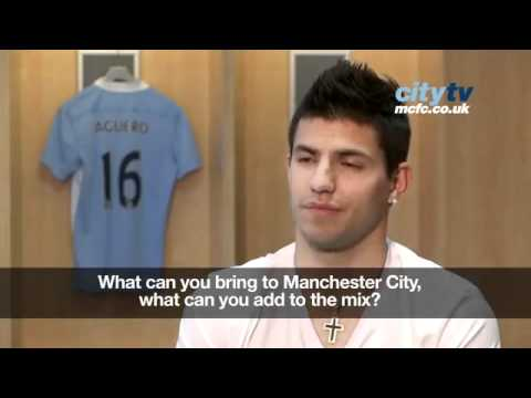 Sergio Aguero: Exclusive interview. Spanish sub english.