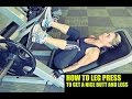 How a Women Should Leg Press Live JamCore Workouts Video 3 of 6