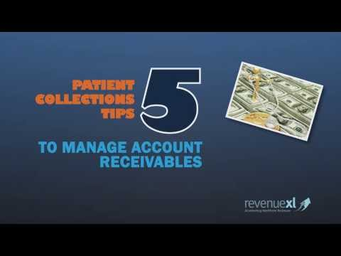 Patient Collections -  5 Tips to Manage Account Receivables