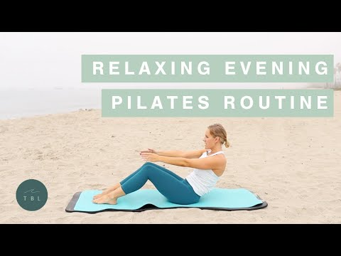 Relaxing Evening Pilates Routine