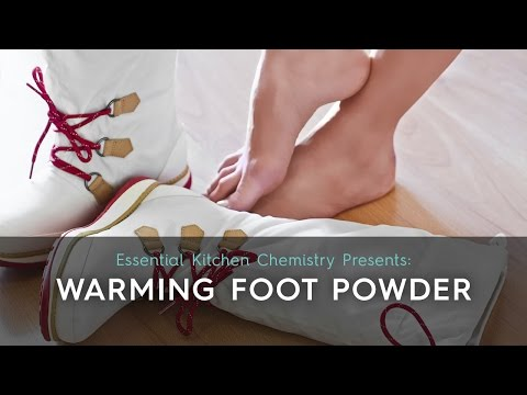 Warming Foot Powder
