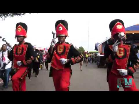 2018 Grambling State Band Marching in to State Fair Classic in Dallas