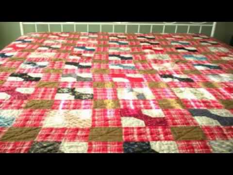 Simple Free Motion Quilting Designs Cathedral Window Quilt Ideas