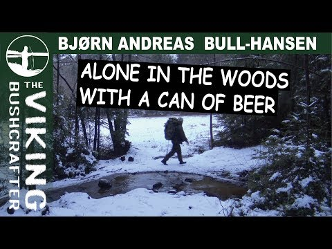Alone in the Woods With a Can of Beer
