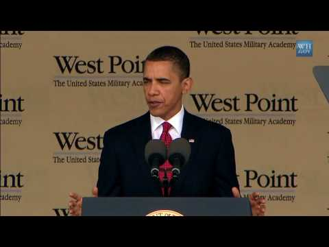 Obama Honors West Point Grads - Full Video