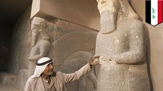 ISIS militants bulldoze ancient Assyrian city of Nimrud, destroy priceless historical artifacts