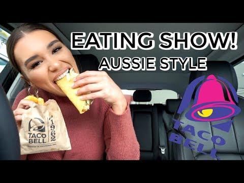 TACO BELL DRIVE THRU MUKBANG | EAT & CHAT WITH ME