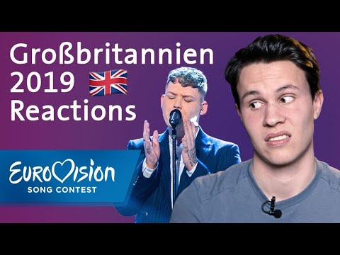 "Michael Rice - ""Bigger Than Us"" - Großbritannien | Reactions | Eurovision Song Contest"